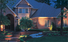 Enhanced lighting-outdoor landscaping-woodstock, GA