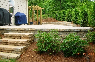 how to build a retention wall