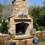outdoor fireplace georgia