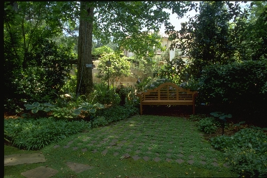 Creating privacy in your yard with landscaping atlanta for Home garden design atlanta